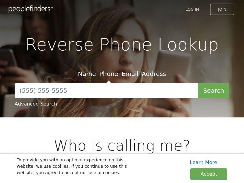 People Finders Reverse Phone Lookup