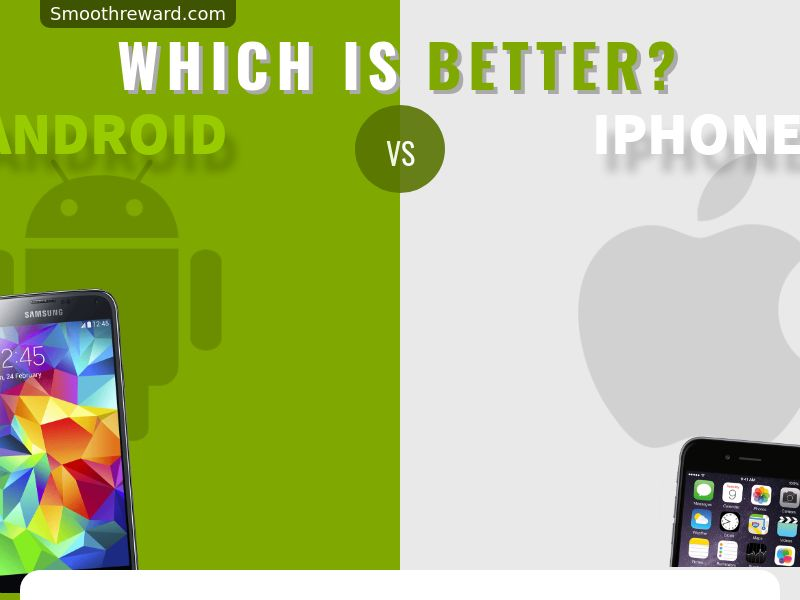 Android vs iPhone - Email Submit
