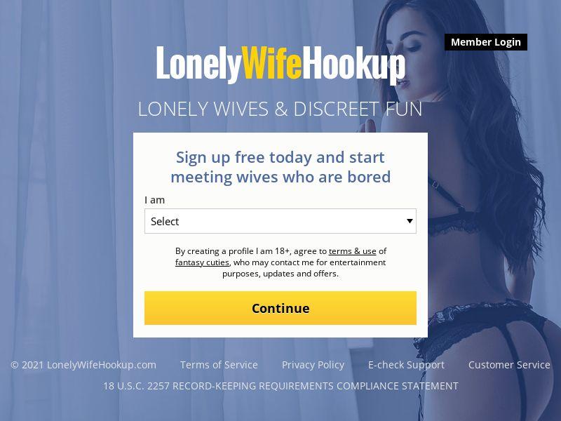 LonelyWifeHookup - PPS - Mobile - AU/CA/NZ/UK/US