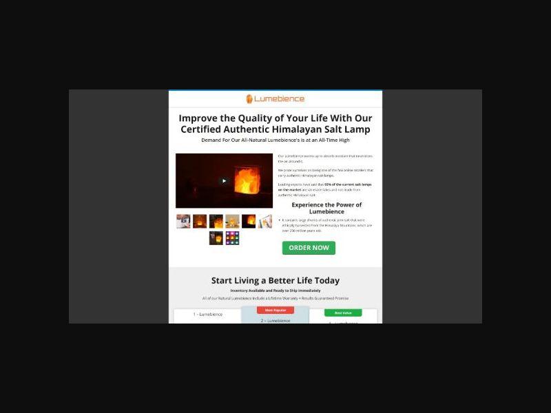 Lumebience - Himalayan Salt Lamp (US)