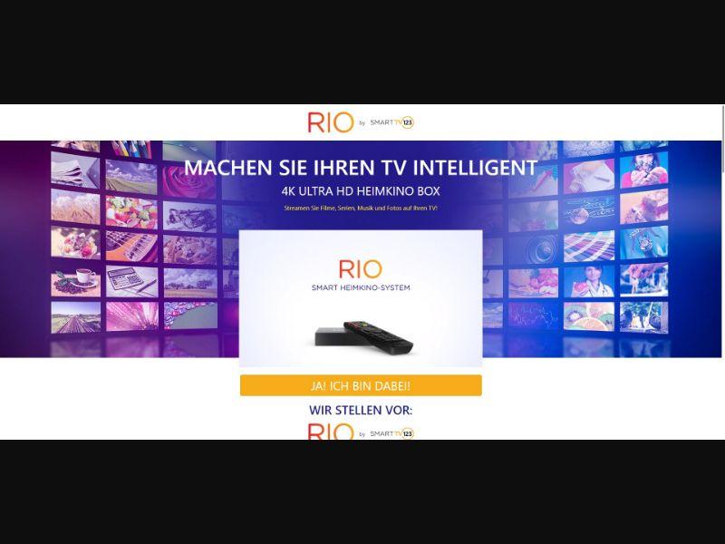 Rio - Smart TV 123 - German Video page - SS - [CH, AT, DE]