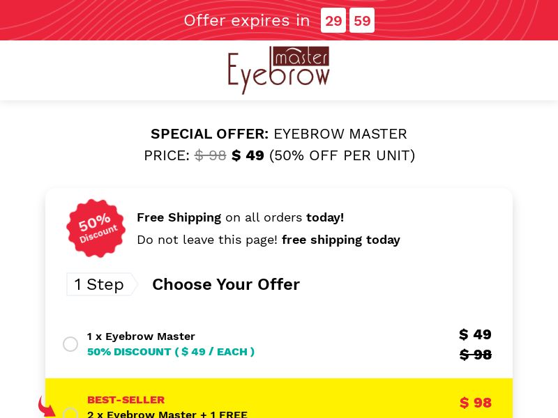 Eyebrow Master (CPS) - INT