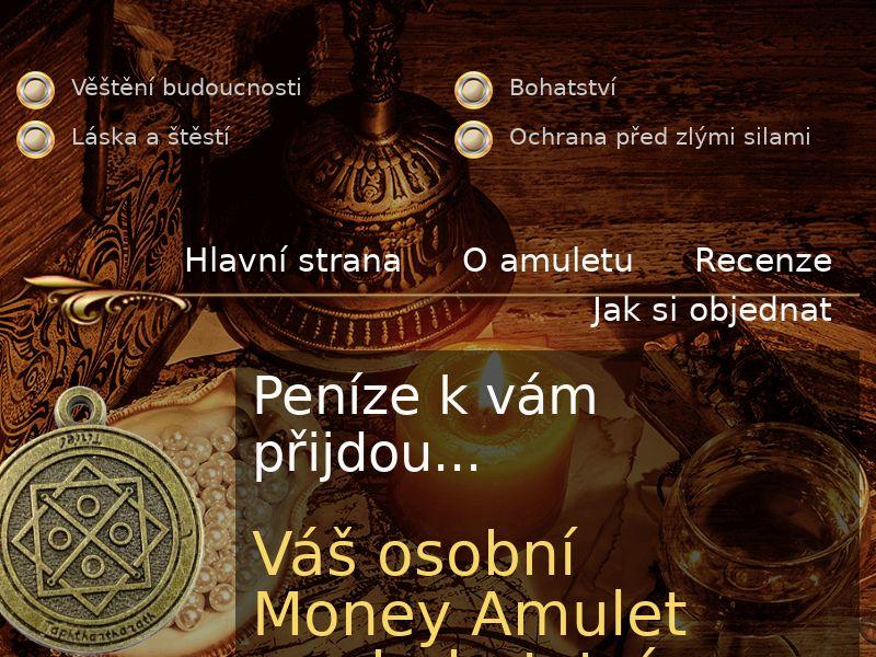 MoneyAmulet CZ