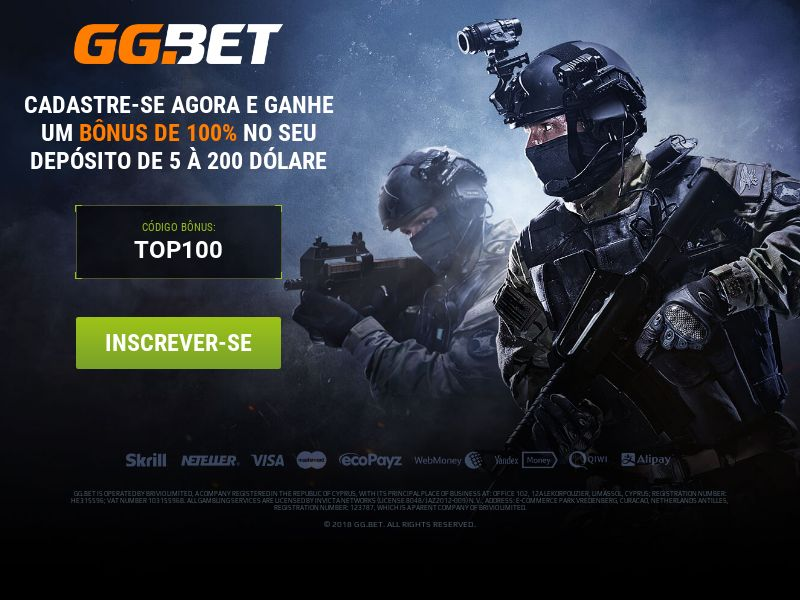 GG.bet - Esports Betting - BR - (CPA)