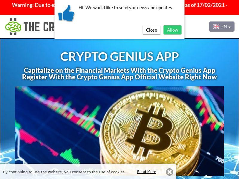 Crypto Genius App English 2729