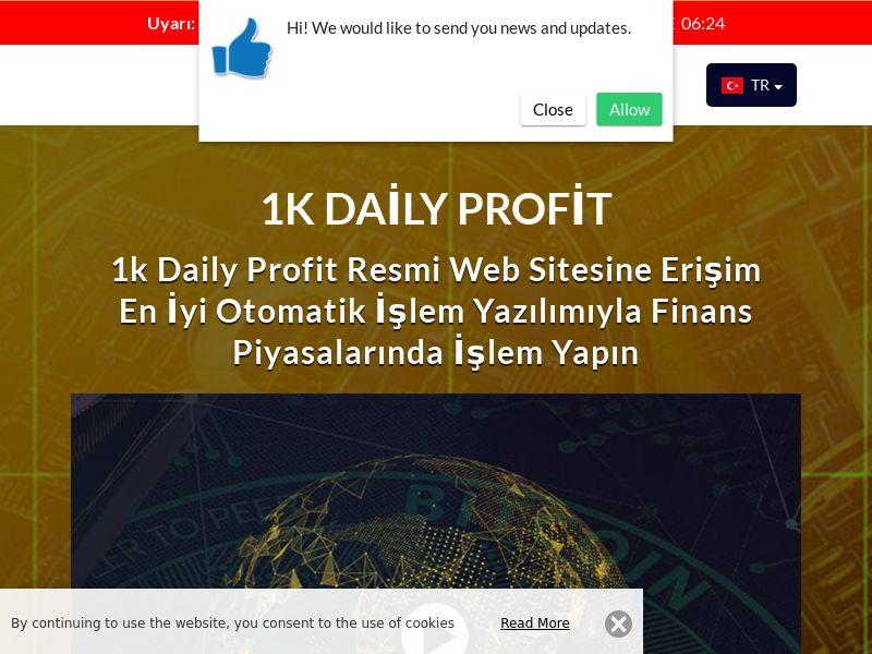1k Daily Profits Turkish 2277