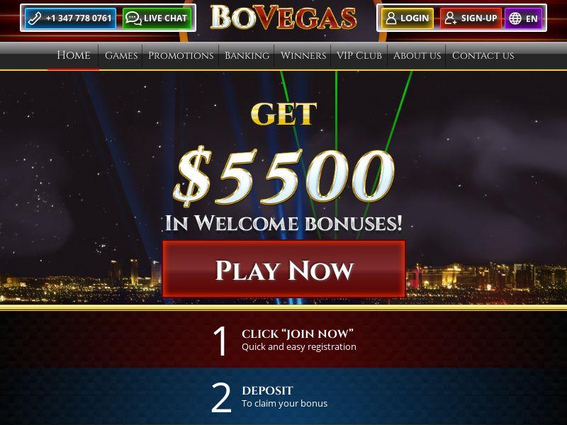 BoVegas casino - CPA - [MULTIGEO]