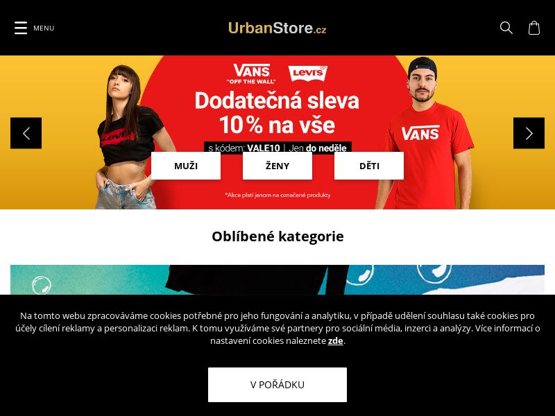 UrbanStore.cz (CZ), [CPS]