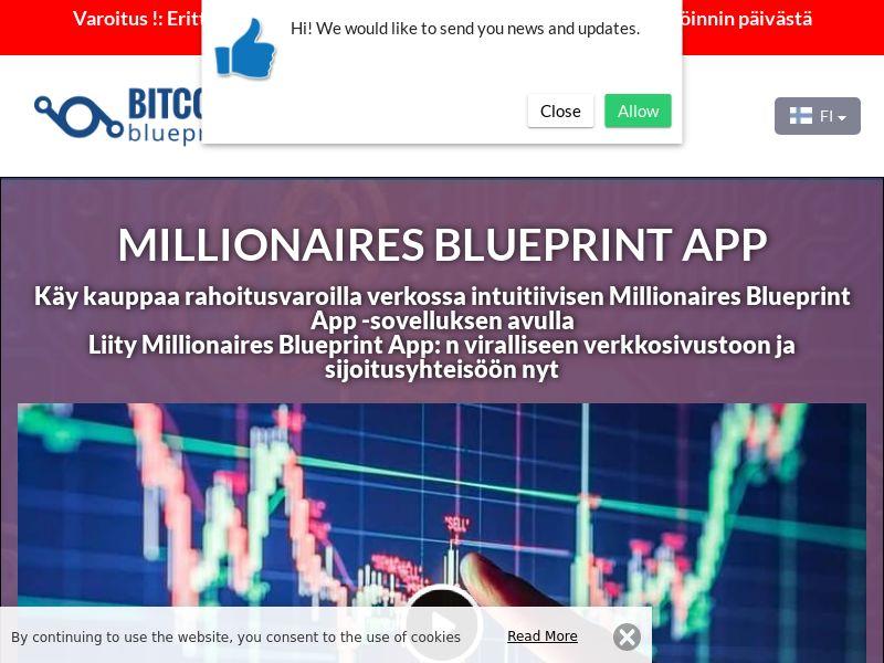 Millionaires Blueprint App Finnish 3230