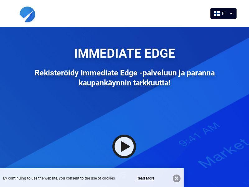 Immediate Edge Bot Finnish 1078