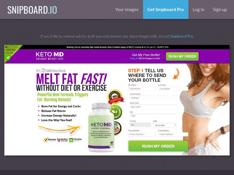 39845 - US - CPS - KETO MD (US) - Email/Push/Display/FB (capp. 300) Paused