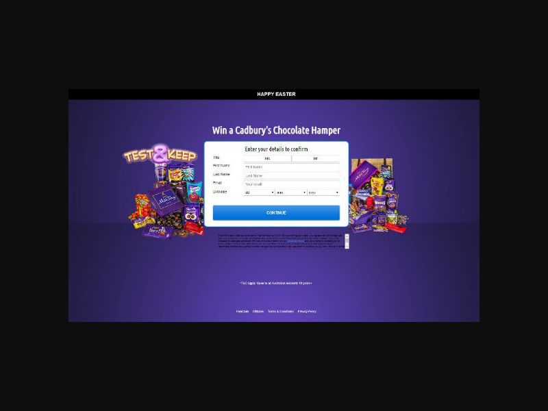 Cadbury Easter Hamper (AU)