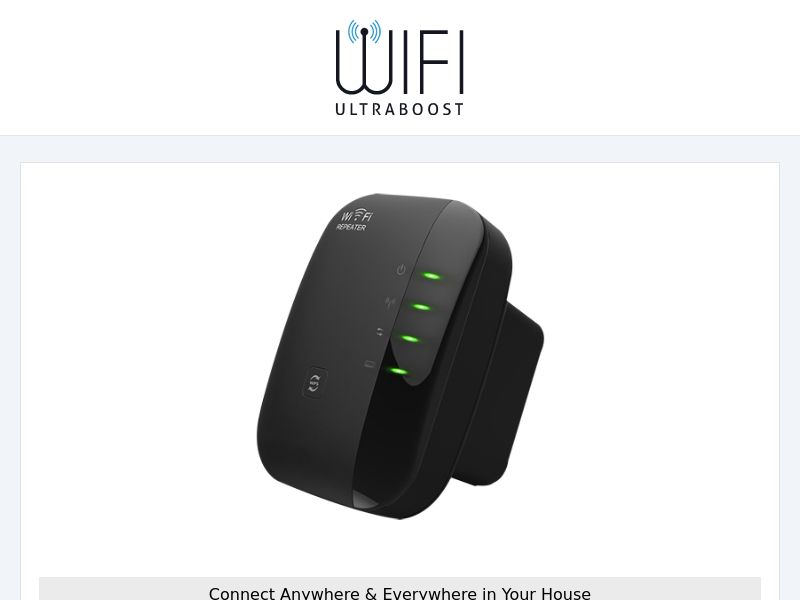 WIFI UltraBoost - Wifi Booster - CPA - [INTERNATIONAL]