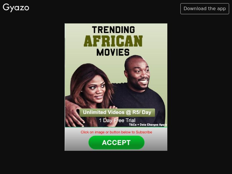 Trending African Movies (ZA)