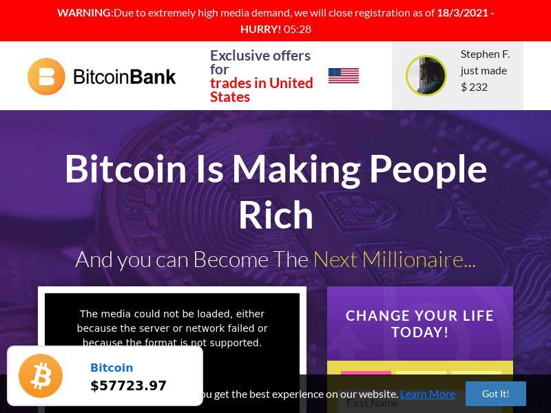 Bitcoin Bank - v4
