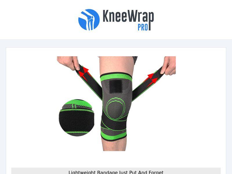 KneeWrap - Professional Knee Bandage - CPA - [INTERNATIONAL]