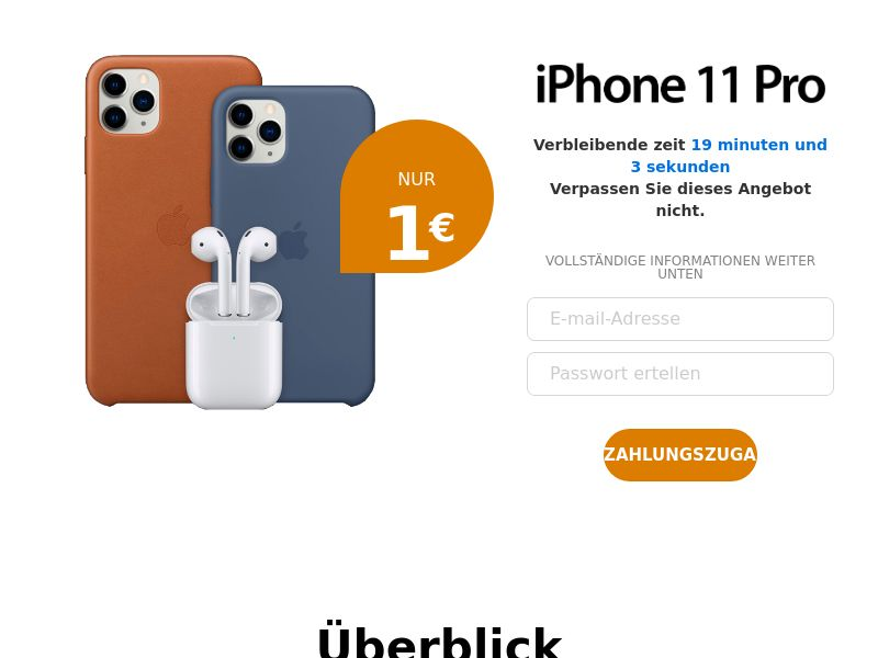 (13209) [WEB+WAP] Iphone 11 - CH - CC