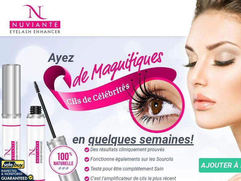 Nuviante: Eyelash Enhancer - FRENCH - (Hair)