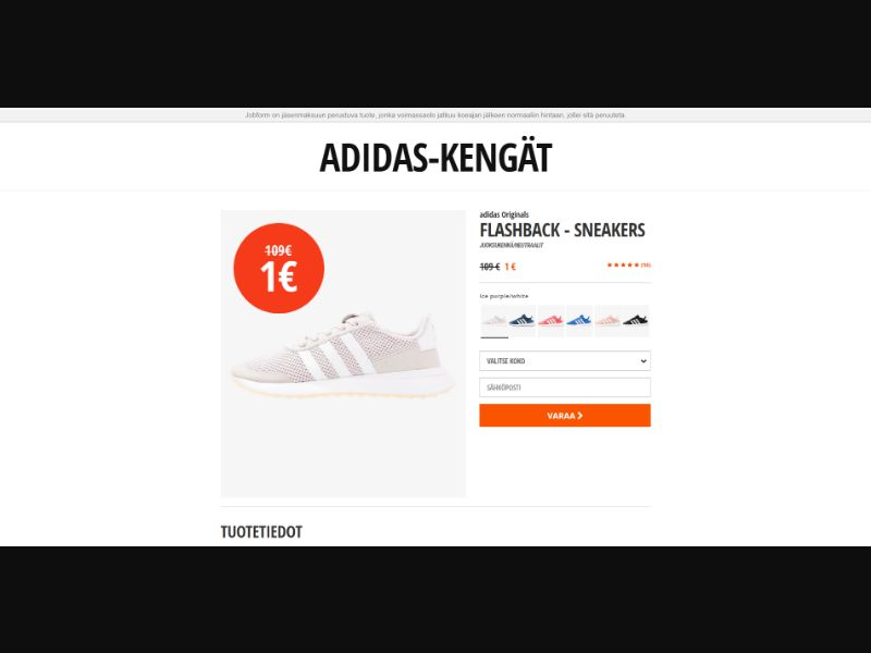 Finland (FI) - Adidas Originals (Responsive)