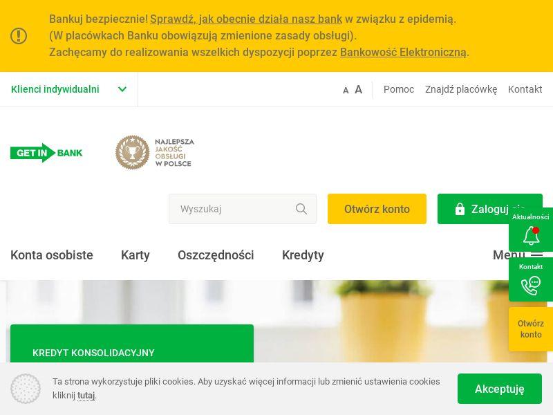 Getin Bank - Konto oszczędnościowe - PL (PL), [CPA], Business, Account, Savings account, Open bank account, bank, finance