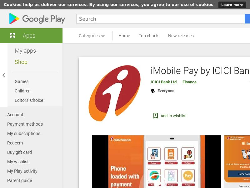 iMobile by ICICI Bank - Android (IN) (KPI) (GAID)