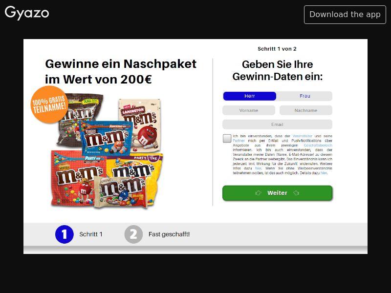 Khvan Chocolate Basket Worth 200€ (DE) (CPL) (Personal Approval)
