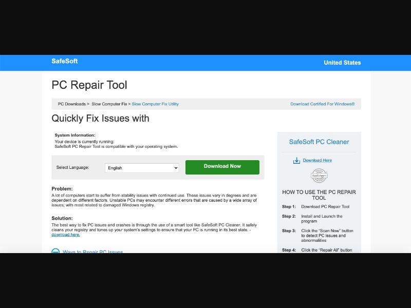 PC Repair Tool [US] - CPI