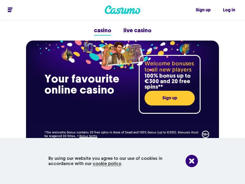 Casumo Incent | FI,NO,NZ