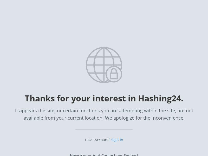 Hashing24 | RevShare