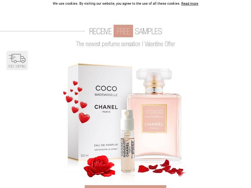 Chanel Valentine Sweeps - UK