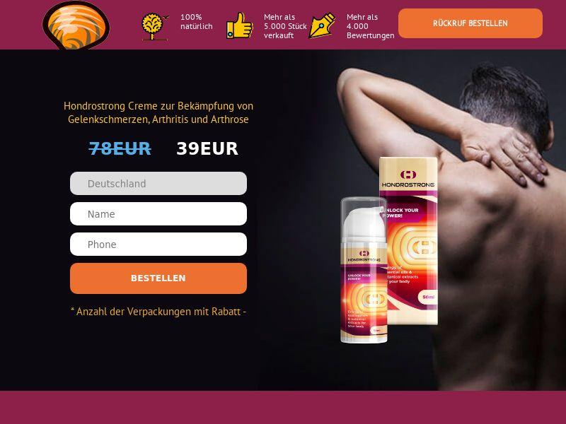 Hondrostrong DE - arthritis product