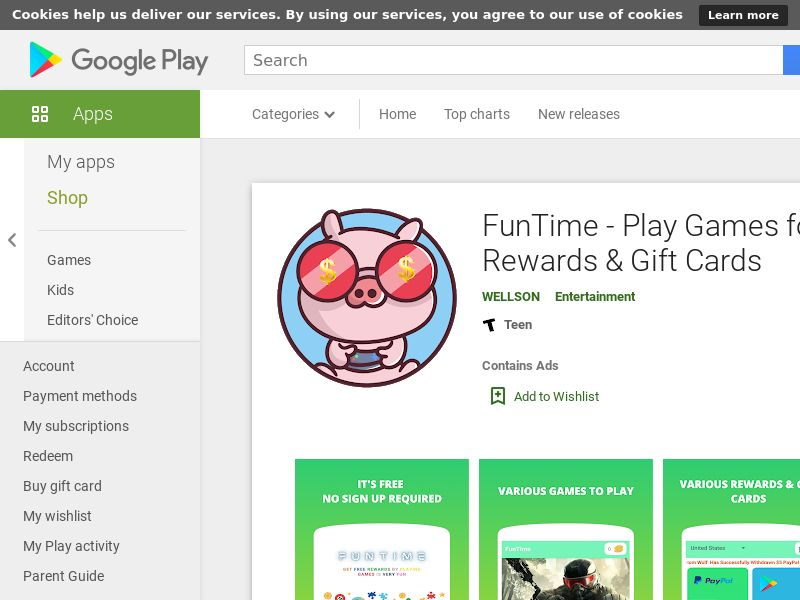 FunTime Android - UK CA