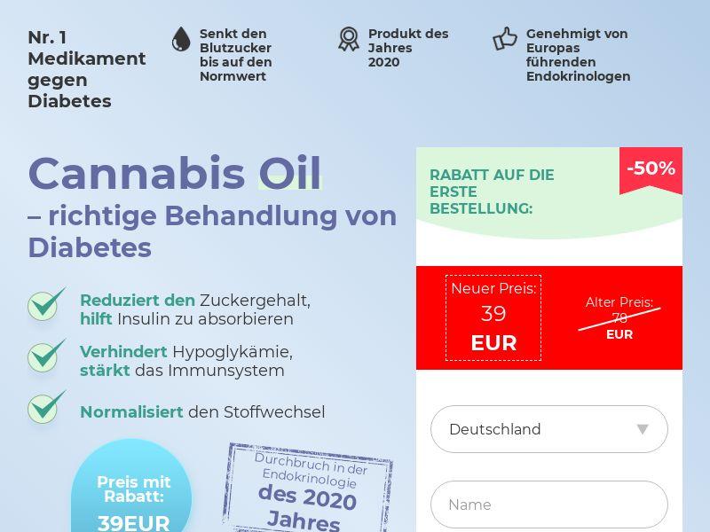 Cannabis Oil DE (diabet)