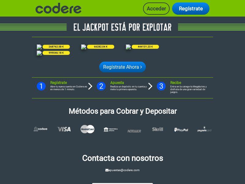 Codere - ES (ES), [CPA]