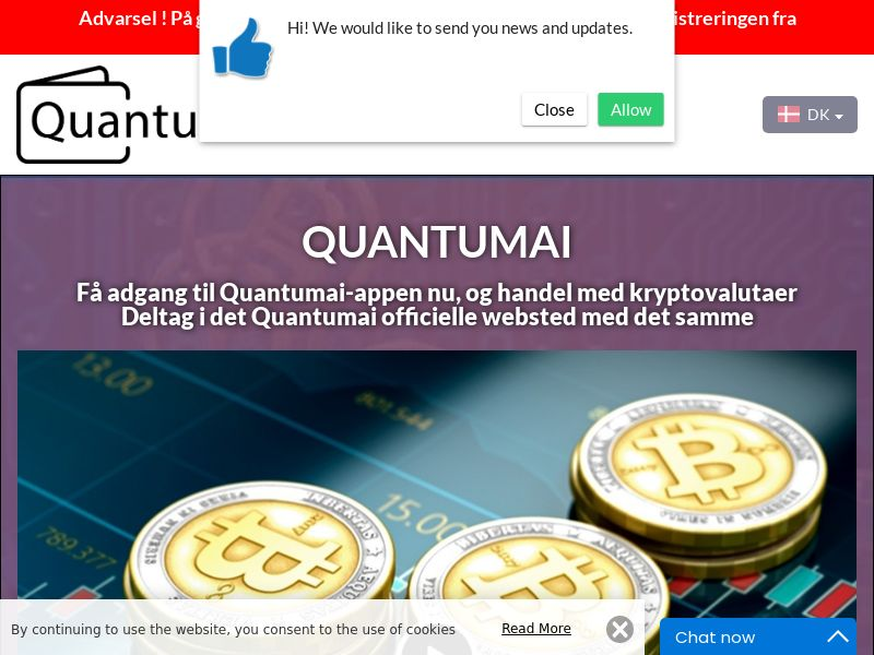 QuantumAI Danish 3900