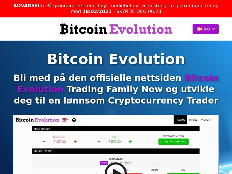 Bitcoin Evolution Pro Norwegian 976