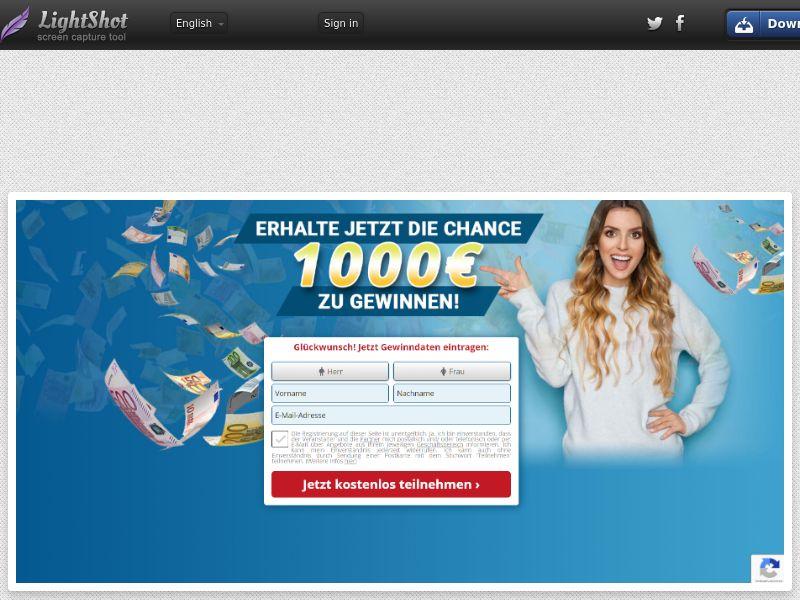 Gewinner - Cash Prize (DE) (CPL) (Personal Approval)
