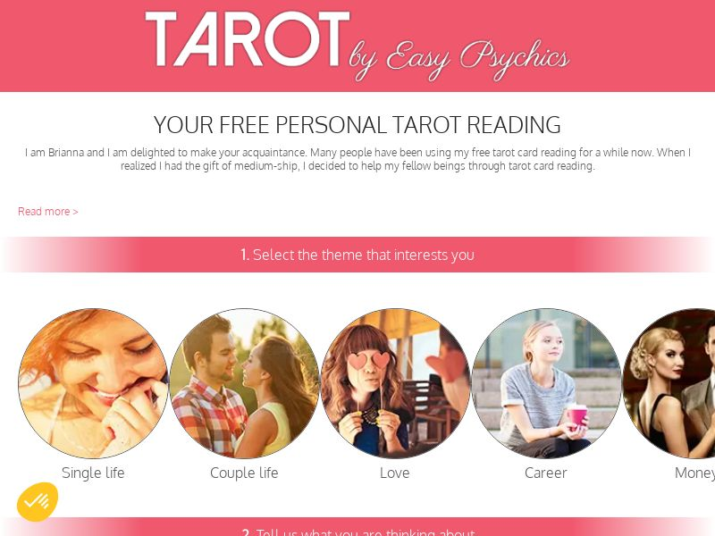 Easy Tarot Psychics CPL [US] - Email Only