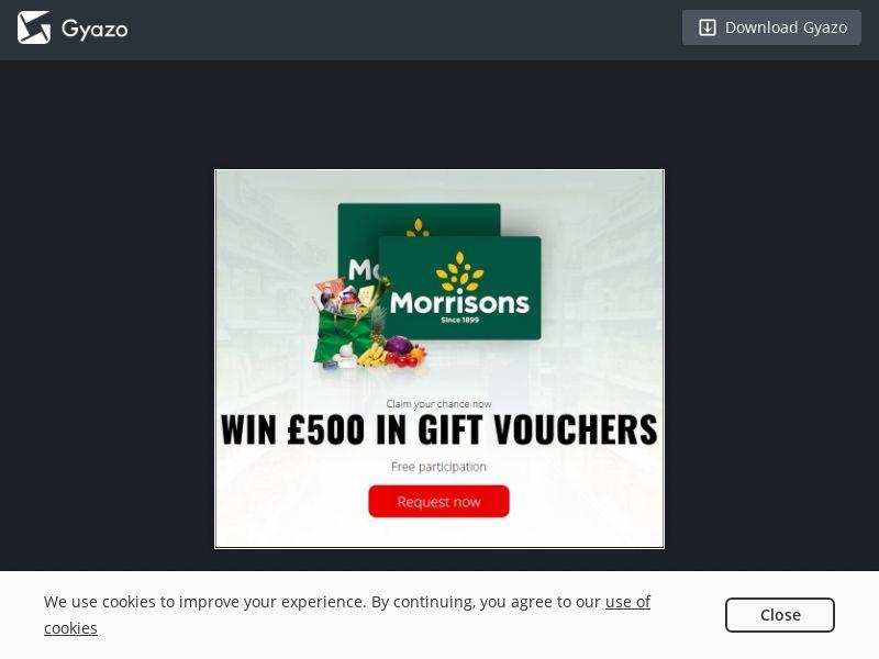Morrisons Voucher (UK) (CPL)
