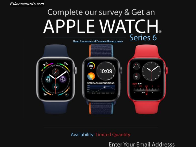 Apple Watch Series 6 (US) (CPL) (Incent) (Personal Approval)