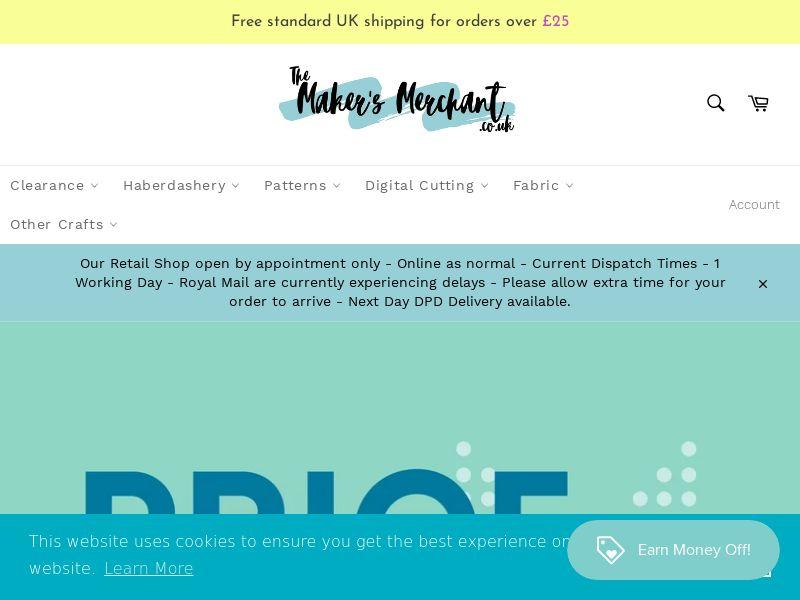 The Maker's Merchant - UK (GB), [CPS]