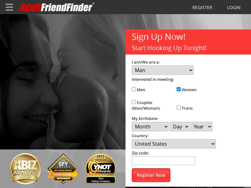 Adult FriendFinder (AT, NL) (CPS) (Personal Approval)