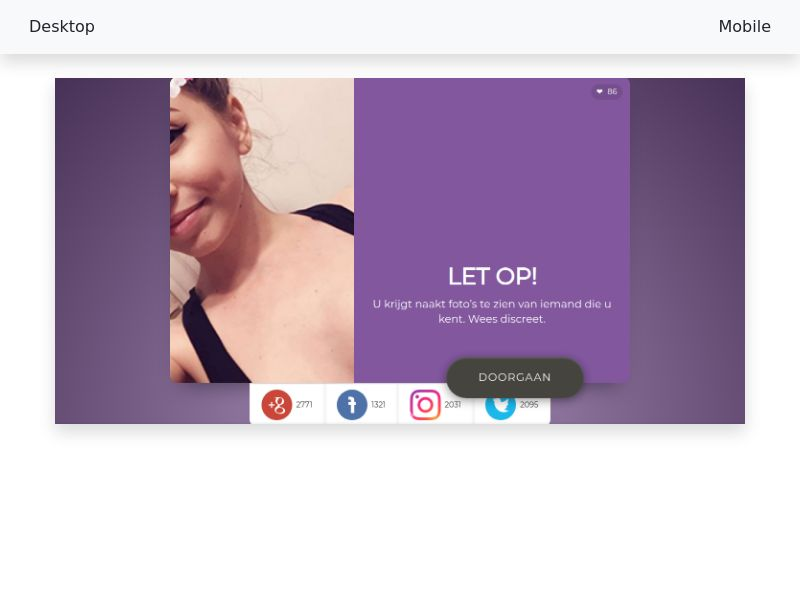 Adult Dating Smartlink - [CPL SOI] - [WW] 18+ [Social + Display traffic]