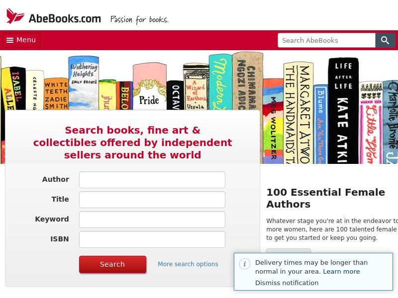 AbeBooks Affiliate Program WW