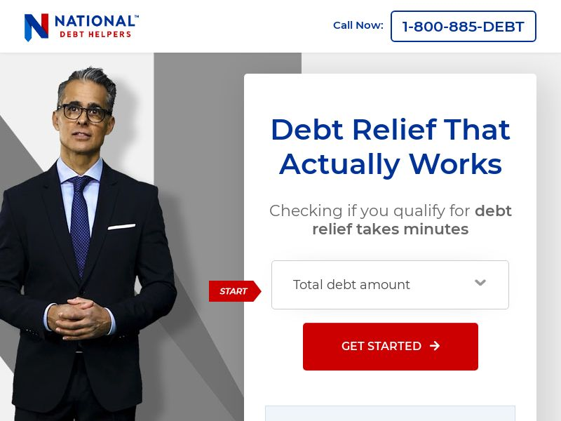 National Debt Helpers - Email Only