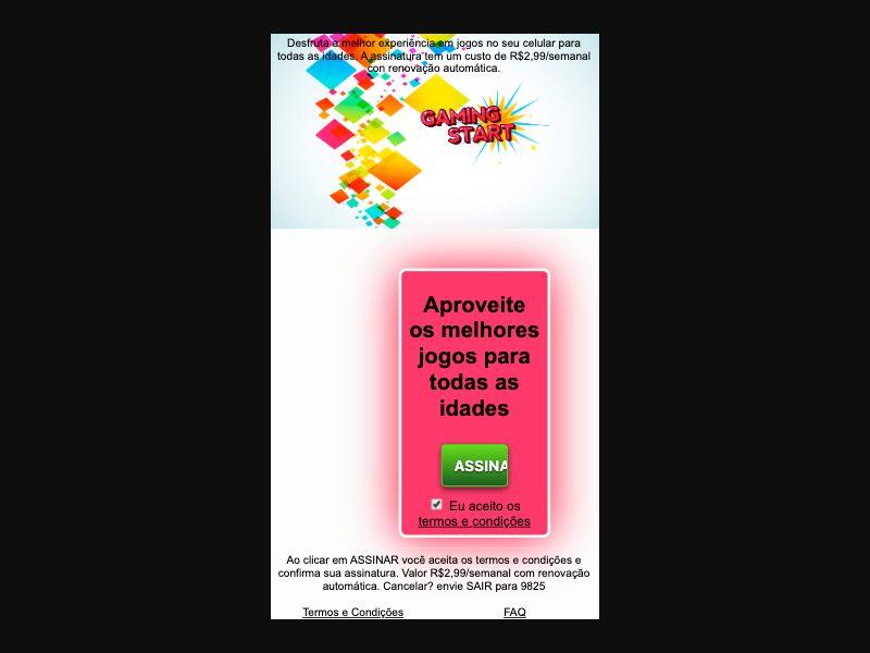 Gaming Start - 1 click - BR - TIM - Online Games - Mobile