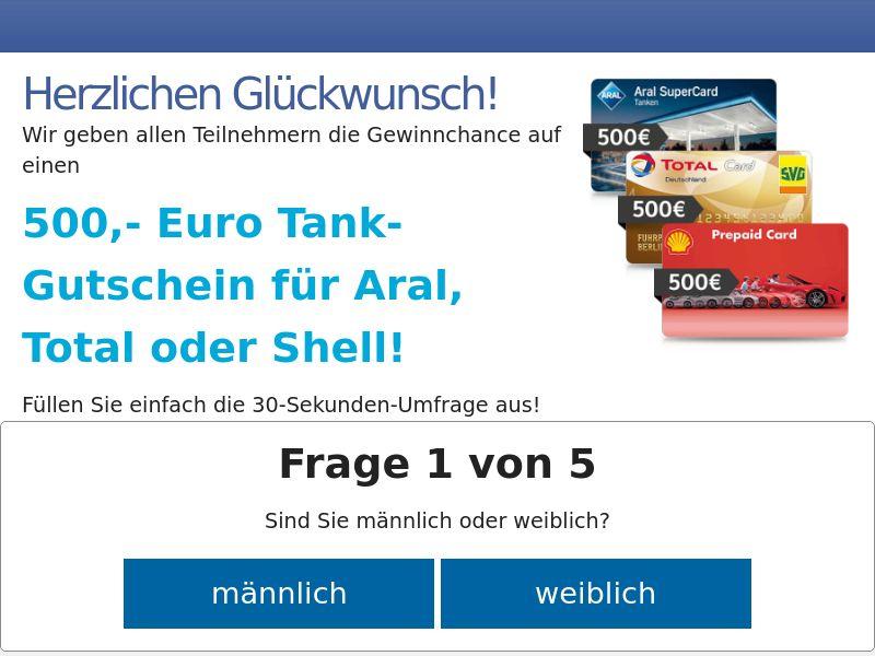 9811) [WEB+WAP] Gas vouchers Total - DE - CPL