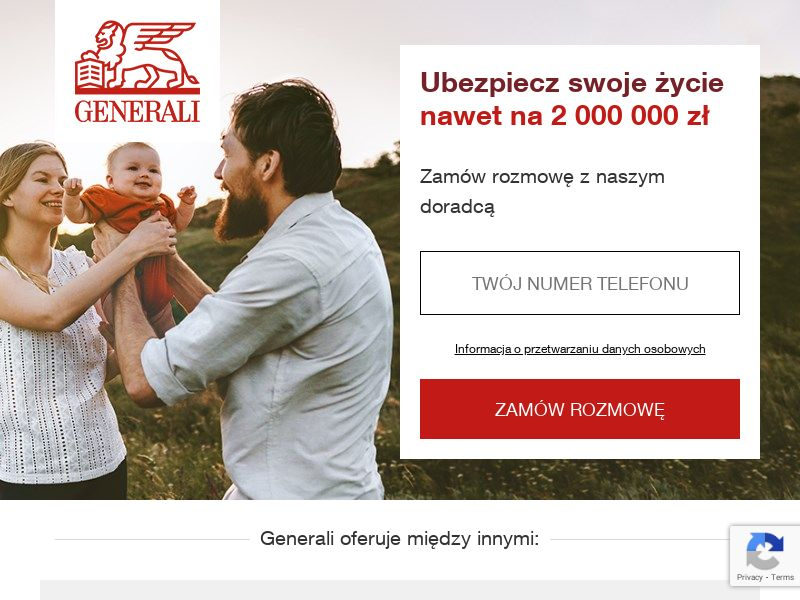 Generali LIFE - PL (PL), [CPA], Business, Insurances, Sell, assurance, security, safe