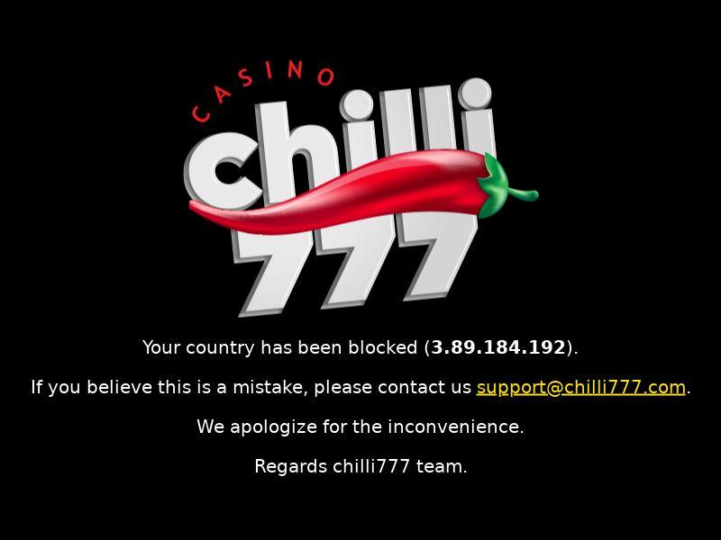 Chilli777.com Casino CPA - DE, SE, FI, UK, DK, AT, NL, BE, LU, FR, PT, ES & AU
