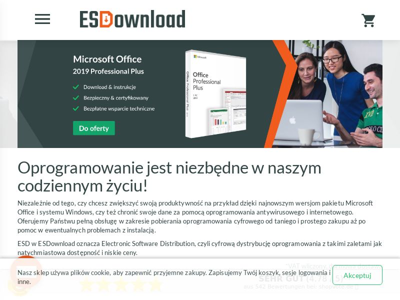 ESDownload - PL (PL), [CPS], Services, Computer Networks, Sell